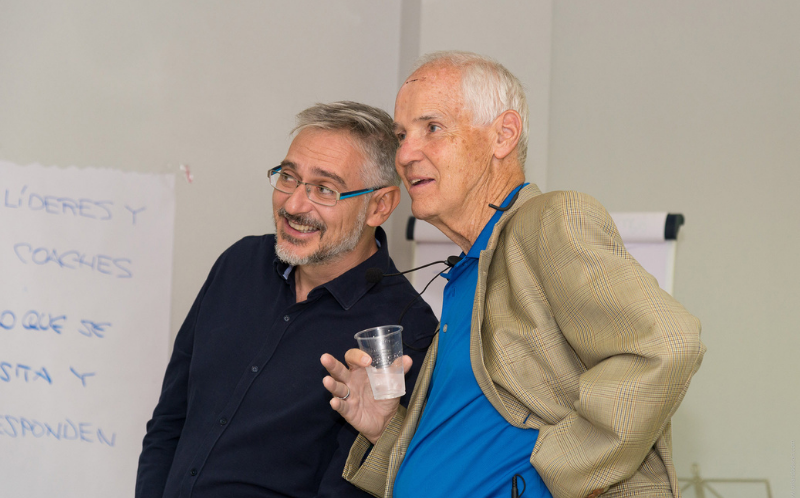 Enrique Jurado y Tim Gallwey